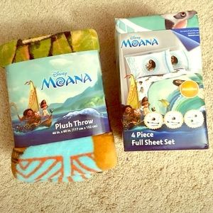 Disney moana bedding set